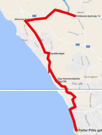 Cykelbana sprint Helsingborg Triathlon 13 augusti 2017
